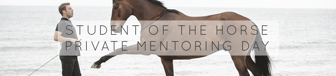 Student of the Horse Private Mentoring Day 2019