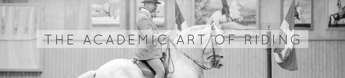 The Academic Art of Riding